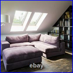 Glazed Skylight Fixed Rooflight Lantern Flat Sloped Roof Patio Sky Roof Window