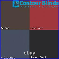 Grey Blackout Fabric Blinds For Roof Skylight. For All Dakstra Roof Windows