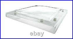 MARDOME ROOFLIGHT Polycarbonate flat roof Skylight Double Skin 1050 x 750