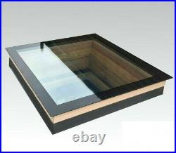 Manual Opening Flat Roof Window Skylight Roof-light Triple Glazed 800mm x 1200mm