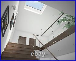 Mardome Fixed Double glazedRoof LightFlat Roof windowSun/Sky LightRoof Dome