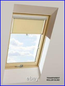 OPTILIGHT Roof Window 66 x 98cm Centre Pivot Skylight + Flashing Tile or Slate