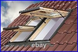 OPTILIGHT Roof Window 78 x 98cm Centre Pivot Skylight + Flashing Tile or Slate