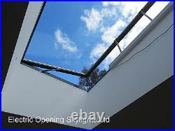 Opening Roof Window Roof Light Skylight Electric Remote Control 100cm x 200cm