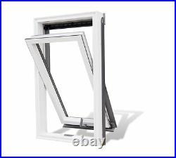 Optilight PVC Roof Window 55/98cm (Skylight Loft Rooflight) FREE FLASHING