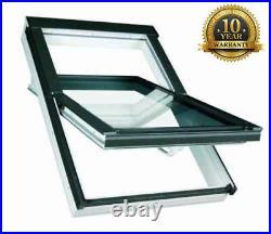Optilight PVC Roof Window 66/98cm (Skylight Roof Rooflight) FREE FLASHING