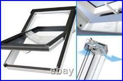 Optilight Roof Window PVC (Skylight) incl flashing, Loft Skylight Rooflight