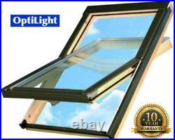 Optilight Skylight Roof Window 55/98cm+FREE FLASHING