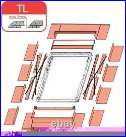Optilight Skylight Roof Window 78118cm Including Flashing + 10 year warranty