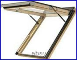 Optilight Top Hung Skylight Escape Access Roof Window 78x98cm+Free Flashing