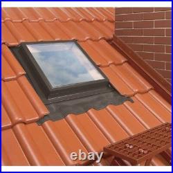 Optilook Skylight Roof Access Window 46x75cm Flashing Top Hung Loft Rooflight