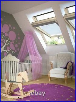 Pine Roof Window Centre Pivot Loft Skylight Rooflight