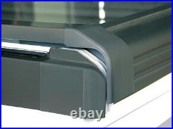 REDUCED/01 PVC Top Hung Skylight Escape Access Roof Windows 55 x 78 cm Flashing