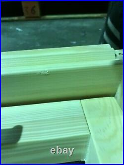 REDUCED/01 Wooden Timber Roof Window 94 x 78cm Double Glazed Skylight + Flashing