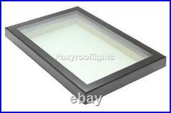 Roof light Skylight Window Triple Glazed Aluminium LAMINATED GLASS 600 x 900mm