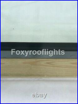 Roof light Skylight Window Triple Glazed Aluminium LAMINATED GLASS 800 x 1800mm