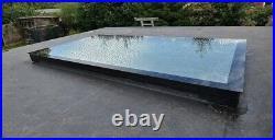 Roof window, Flat roof light, Skylight, Glass Roof light 250mm by 250mm