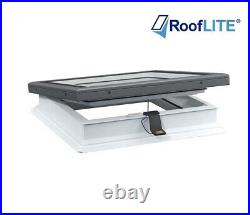 RoofLITE Electric Flat Glass Roof Window + Upstand / Skylight /NEXT DAY DELIVERY