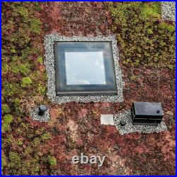 RoofLITE Fixed Flat Glass Roof Window with Upstand / Skylight /NEXT DAY DELIVERY