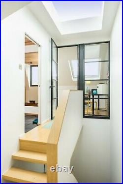 Rooflight Flat Roof Skylight Sky Light Glass Glazed Lantern Window 1000mm x 2000