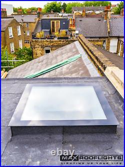 Rooflight Flat Roof Skylight Sky Light Glass Glazed Lantern Window 1200 x 800mm