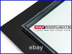 Rooflight Flat Roof Skylight Sky Light Glass Glazed Lantern Window Various Sizes