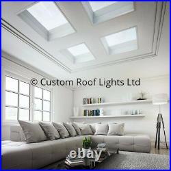 Rooflight Glass Sky Light Skylight Flat Roof Lantern (No Upstand) Best Quality