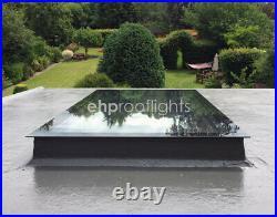 Rooflight Skylight Window Triple Glazed Self Clean Toughened+ Glass 600 x 600mm