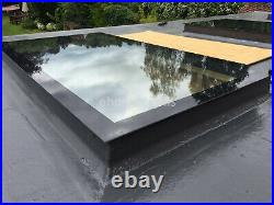 Rooflight Skylight Window Triple Glazed Self Clean Toughened+ Glass 700 x 1200mm