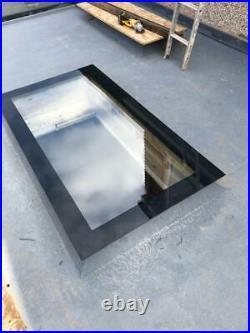 Rooflight Window 1000 x 2000mm Triple Glazed Glass Skylight Flat Roof Sky Light