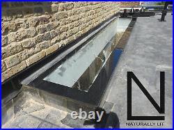 Rooflight skylight lantern, self cleaning toughened roof window 600x1800 SALE