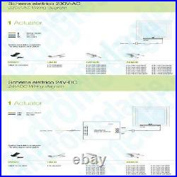 SMART 230V GREY + BRACKETS FOR SKYLIGHT Motor for roof windows and domes