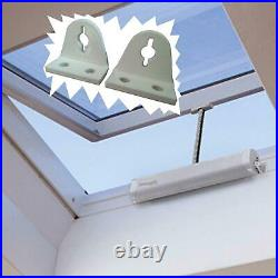 SMART 24V GREY + BRACKETS FOR SKYLIGHT Motor for roof windows and domes