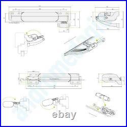 SMART 24V WHITE + BRACKETS FOR SKYLIGHT Roof window motor