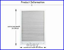 Skylight Blinds For Balcony Roof Cellular Shades Window Full Blackout Fabric