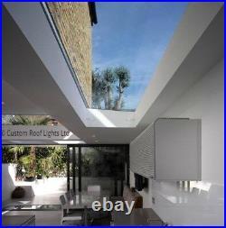 Skylight Flat Rooflight Roof Window Glass Roof Lantern 20 Year Warranty Reduced