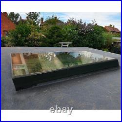 Skylight Roof Lantern Window Rooflight Triple Glazed Tough Glass Aluminum Frame