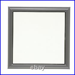 Skylight Roof Window Fixed Curb Mount Tempered Low Glass 22.5 x 22.5 Inch