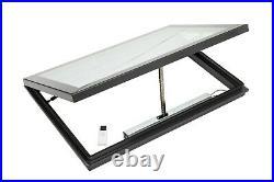 Skylight Rooflight Flat Roof Window Opening Electric 1500 x 1000mm 20yr Warranty