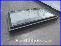 Skylight Rooflight Flat Roof Window Opening Electric 600 x 900mm 20yr Warranty