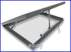 Skylight Rooflight Flat Roof Window Opening Electric 800 x 1200mm 20yr Warranty