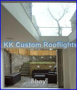 Skylight Rooflight Roof lantern Window Laminated Triple Glazed Glass Self Clean