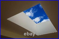 Skylight Rooflight Triple Glazed Clear Self Cleaning Glass + Kerb Many Sizes