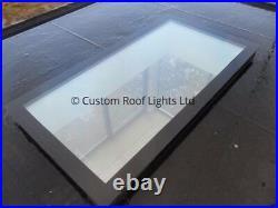 Skylight flat roof window Rooflight roof lantern Free Kerb CHEAPEST 600x1800