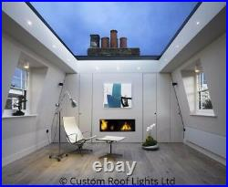 Skylight rooflight Flat Roof window lantern ALL SIZES 20 Year warranty 800x1500