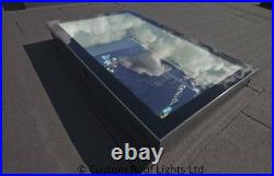 Skylight rooflight flat roof window roof lantern 20 Year warranty 600x1200