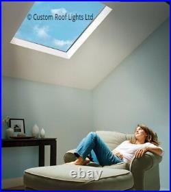Skylight rooflight flat window roof lantern 20 Year Warranty 600x1800