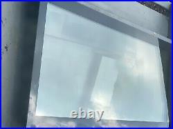 Skylight window flat roof size 1000 x 3000 Small crack in corner