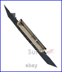 Sunlux 47cm x 73cm Top Hung Skylight Access Roof window Rooflight with flashing