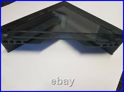 UPVC Anthracite grey Solaglaze fixed flat glass rooflight/skylight/Roof window